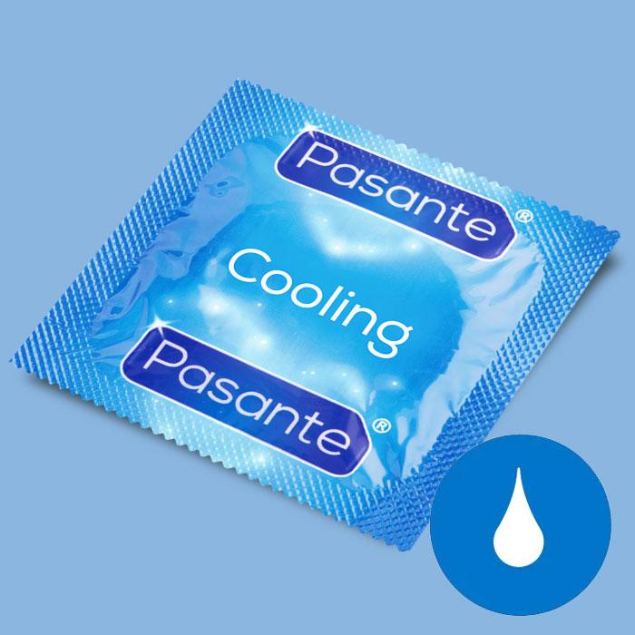 e3266282444 Jahutava efektiga kondoom Pasante Cooling, 1 tk - Osta epoest liset.ee