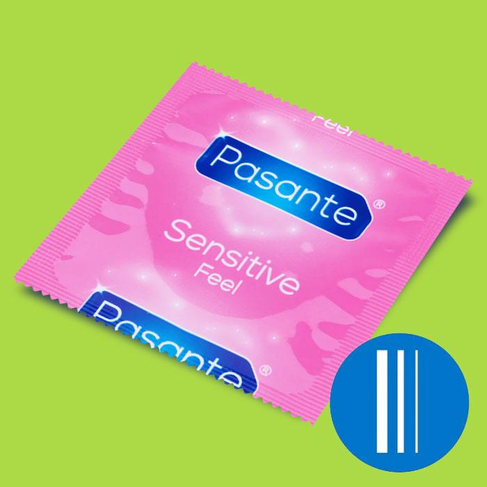 0831b3d5f9d Kondoom Pasante Feel Sensitive - õhukene, 1 tk - Osta epoest liset.ee